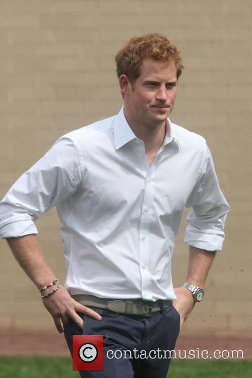 Prince Harry and Harlem 31