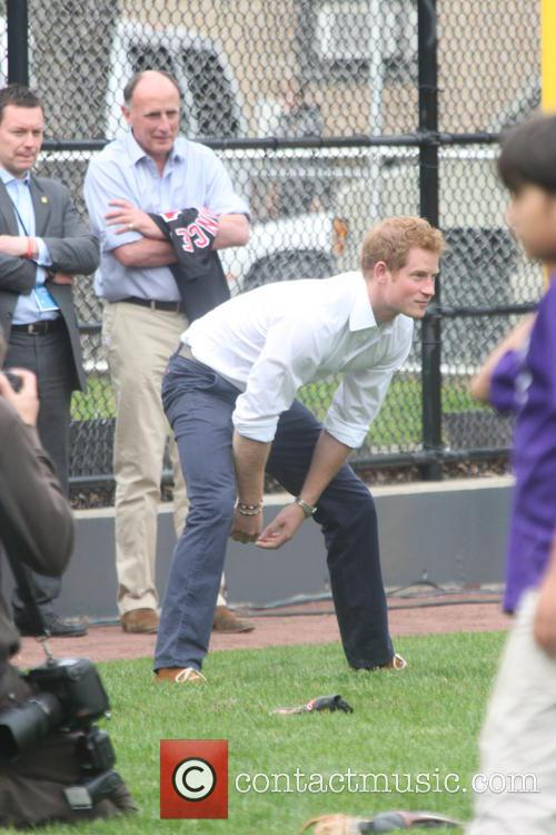 Prince Harry and Harlem 32