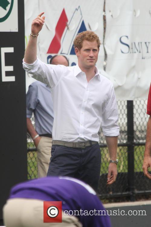 Prince Harry and Harlem 37