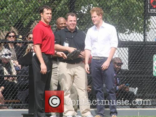 Prince Harry, Mark Teixeira and Harlem 27