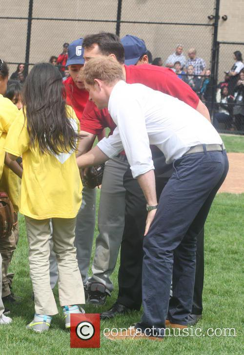 Prince Harry and Harlem 55