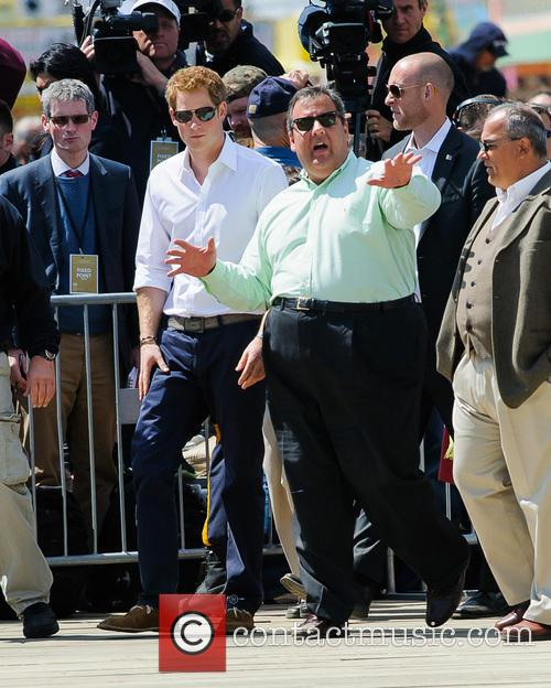 Prince Harry, New Jersey Governor Chris Christie and Jersey Shore 6
