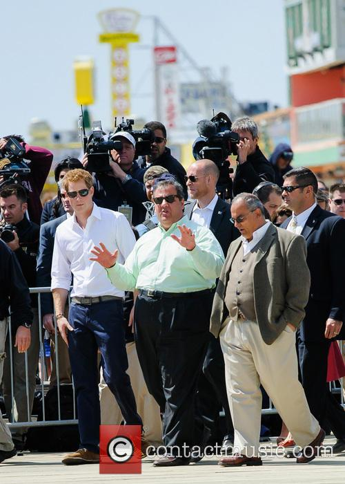 Prince Harry, New Jersey Governor Chris Christie and Jersey Shore 10
