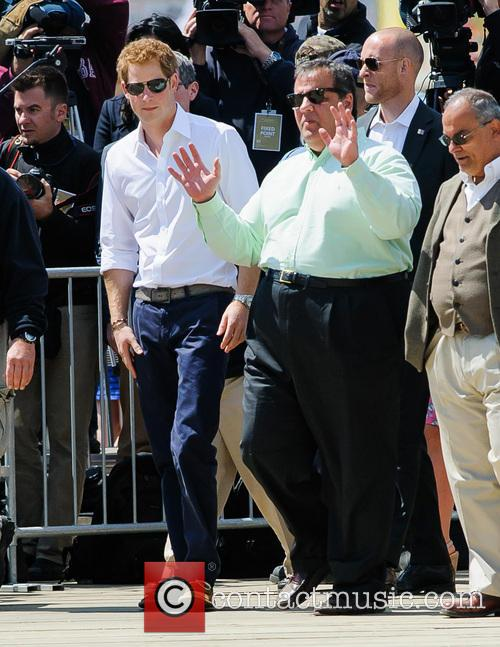 Prince Harry, New Jersey Governor Chris Christie and Jersey Shore 1