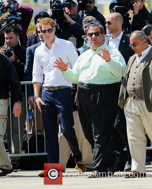 Prince Harry, New Jersey Governor Chris Christie and Jersey Shore 8