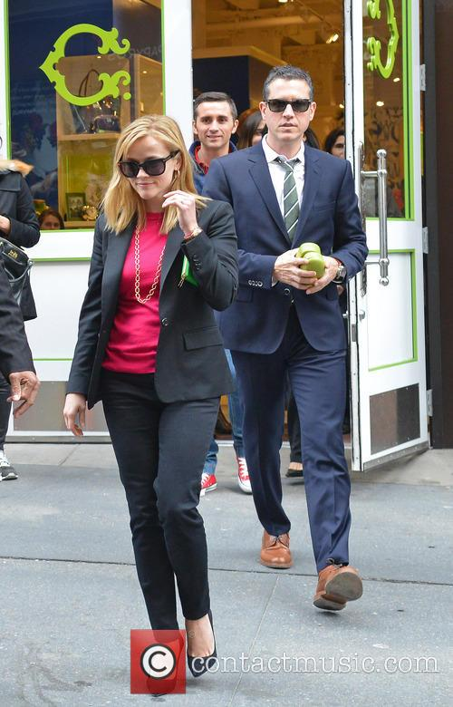 Reese Witherspoon and Jim Toth in SoHo