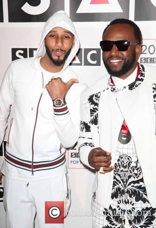 Swizz Beatz and Rico Love 2