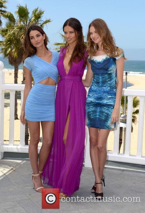 Lily Aldridge, Adriana Lima and Behati Prinsloo 2