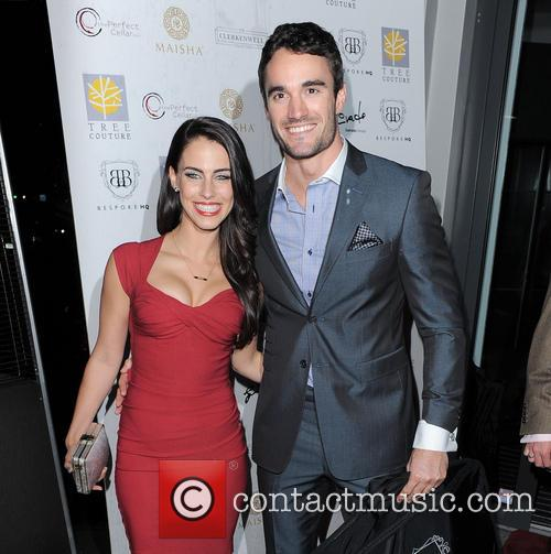 Jessica Lowndes and Thom Evans 4