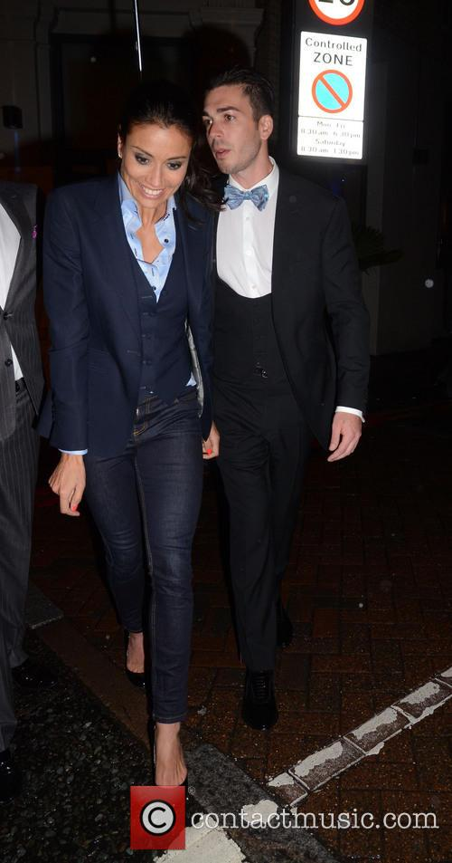 Melanie Sykes and Jack Cockings 1