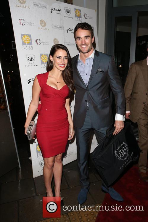 Jessica Lowndes and Thom Evans 8