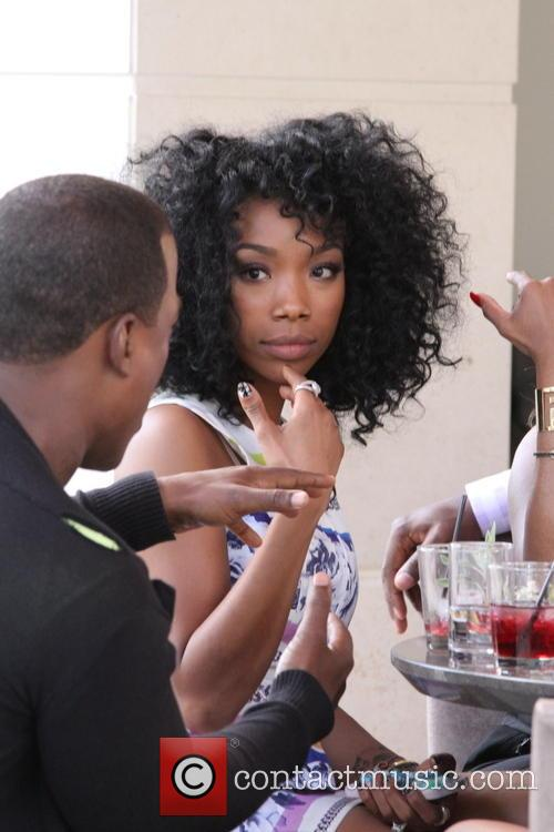 Won-g Bruny and Brandy Norwood 5