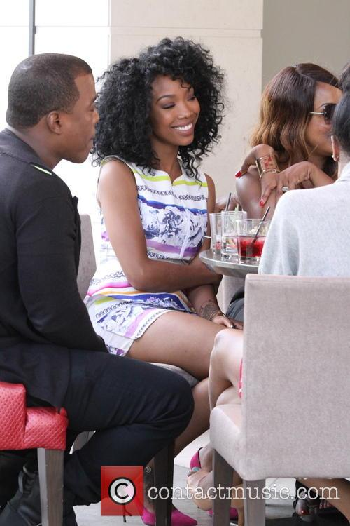 Won-g Bruny and Brandy Norwood 6