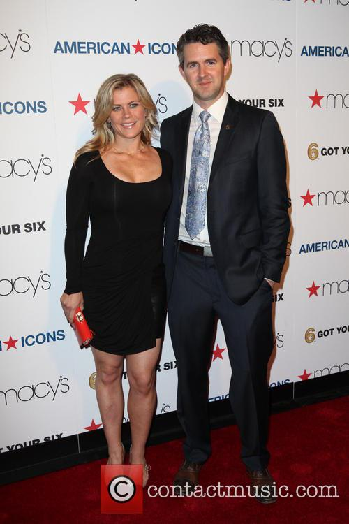 Alison Sweeney and Chris Marvin