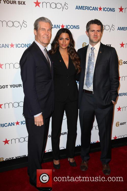 Todd Lungren, Camila Alves and Chris Marvin 2