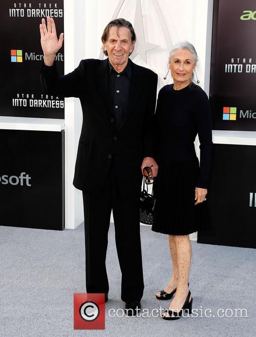 Leonard Nimoy and Susan Bay