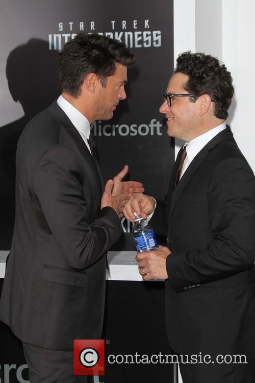 Karl Urban and J.j. Abrams 8