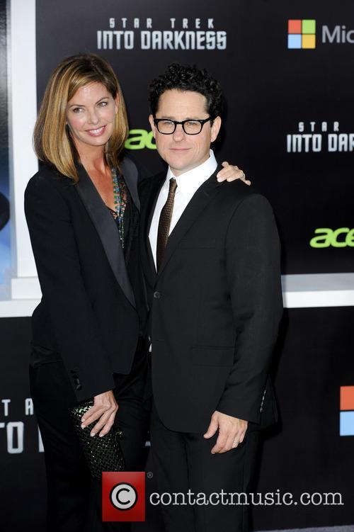 J.j. Abrams and Katie Mcgrath 2