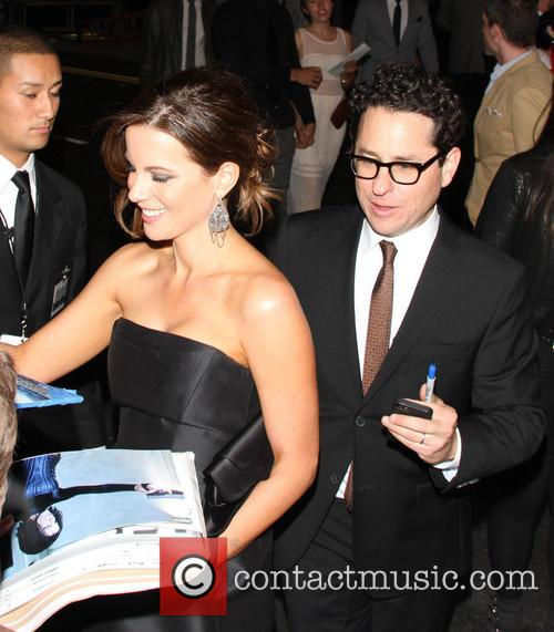 Jj Abrams and Kate Beckinsale 2