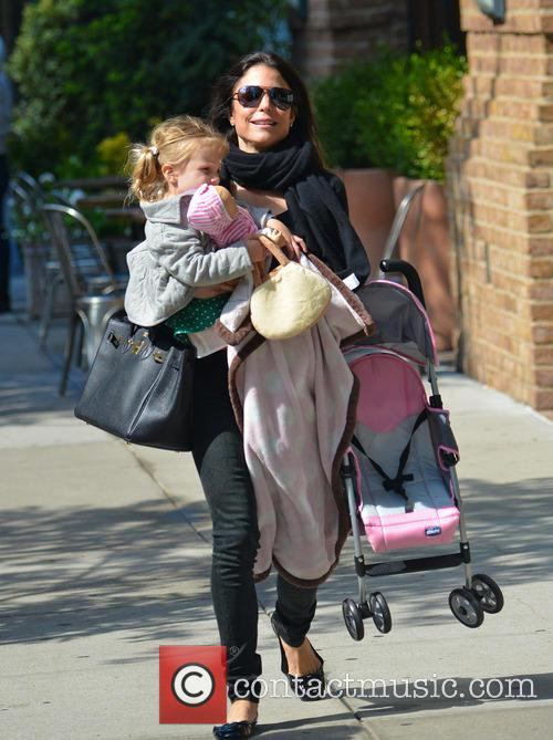 Bethenny Frankel and daughter seen out and about