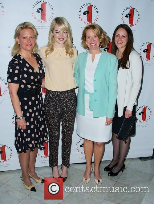 Emma Stone and Mary Lou Quinlan 4