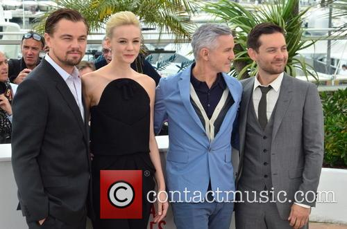 Leo Di Caprio, Carey Mulligan, Baz Luhrmann and Toby Mcguire 3