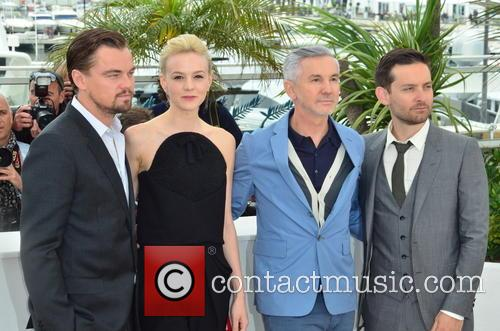 Leo Di Caprio, Carey Mulligan, Baz Luhrmann and Toby Mcguire 8