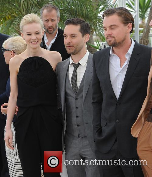 Carey Mulligan, Tobey Maguire and Leonardo Dicaprio 1