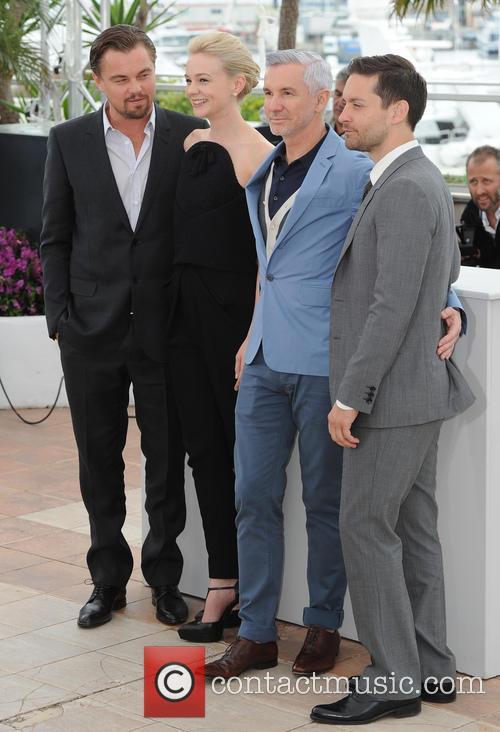 Leonardo Dicaprio, Carey Mulligan, Baz Luhrmann and Tobey Maguire 6