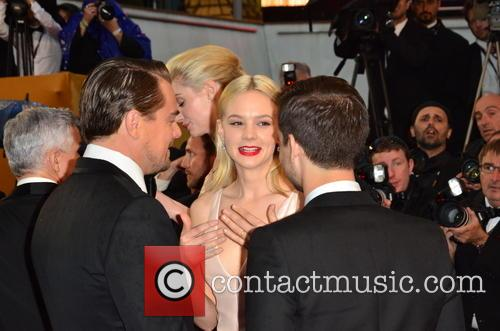 Toby Maguire, Carey Mulligan and Leo Di Caprio 4