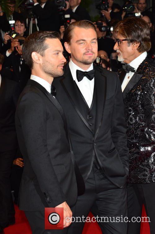 Toby Maguire and Leo Di Caprio 5