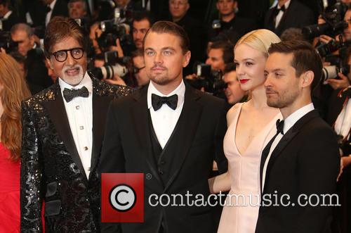 Amitabh, Bachchan, Leonardo Dicaprio, Carey Mulligan and Tobey Maguire 1