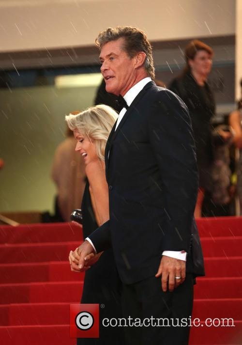 David Hasselhoff and Hayley Roberts 5