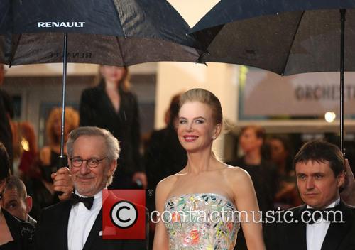 Steven Spielberg and Nicole Kidman 2