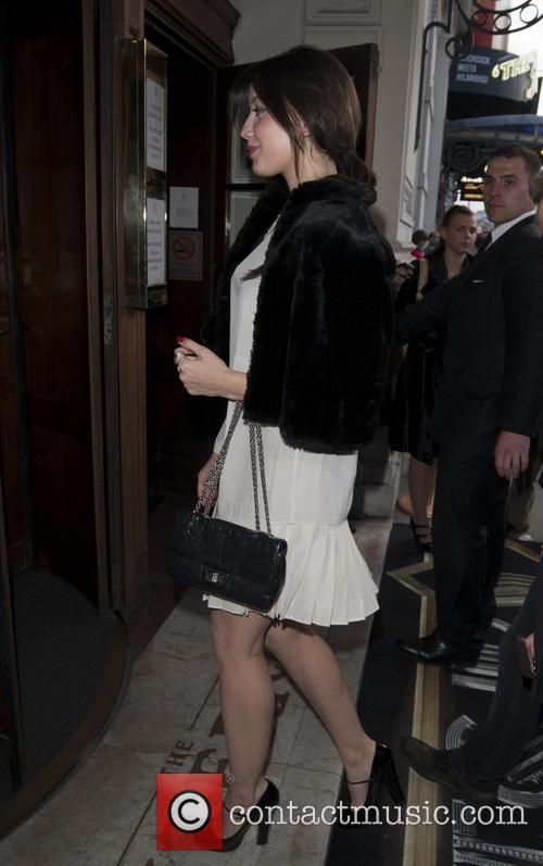 Celebrities arrive at the Criterion Restaurant on Piccadilly