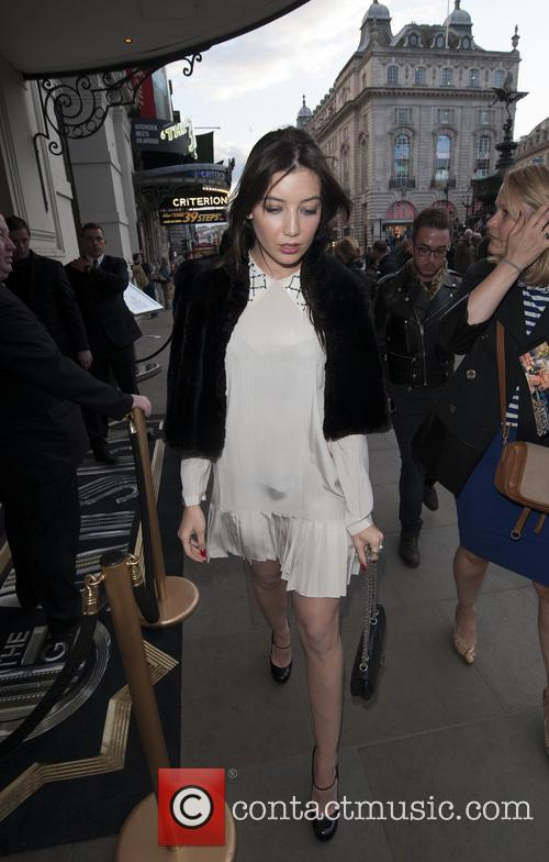 daisy lowe celebrities arrive at the criterion 3665277