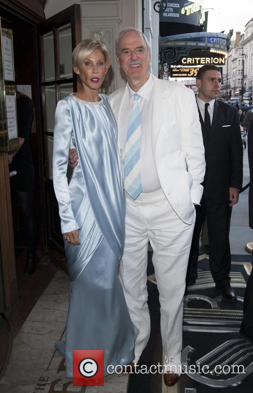 Jennifer Wade and John Cleese 2