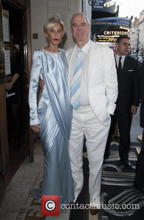 Jennifer Wade and John Cleese 1