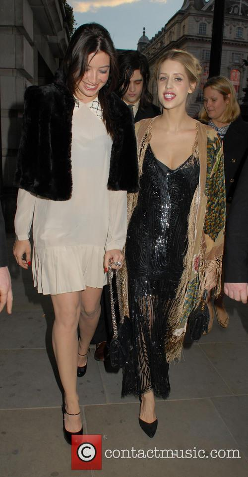 Daisy Lowe and Peaches Geldof 8