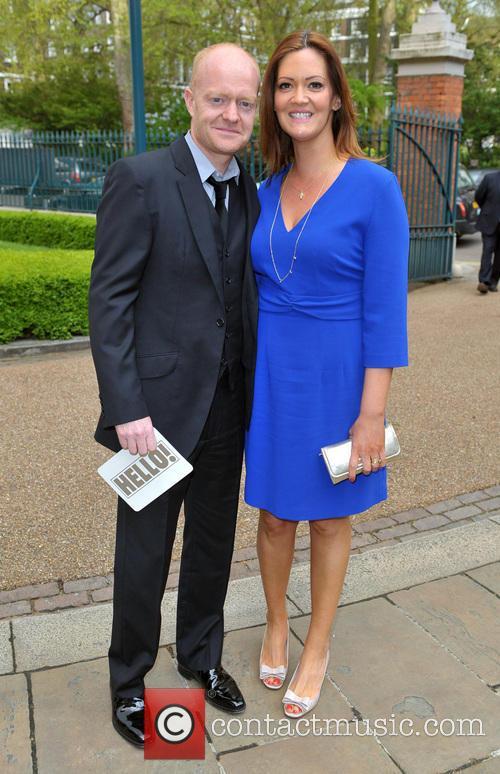 Jake Wood and Alison Murray