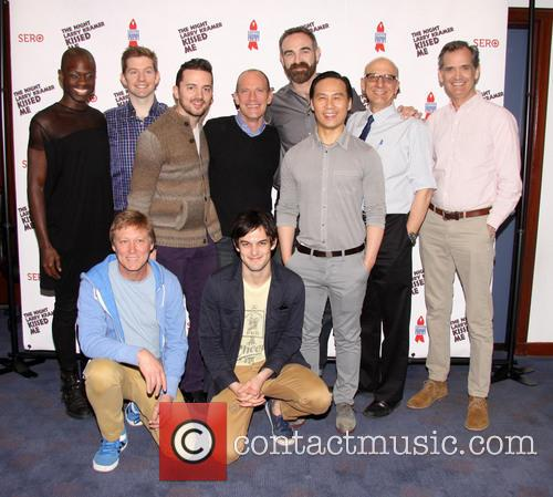 David Drake, Donald C. Shorter Jr., Rory O'malley, Chad Ryan, Aaron Tone, B.d. Wong, Tom Viola, Sean Strub, Robert La Fosse and Wesley Taylor 1