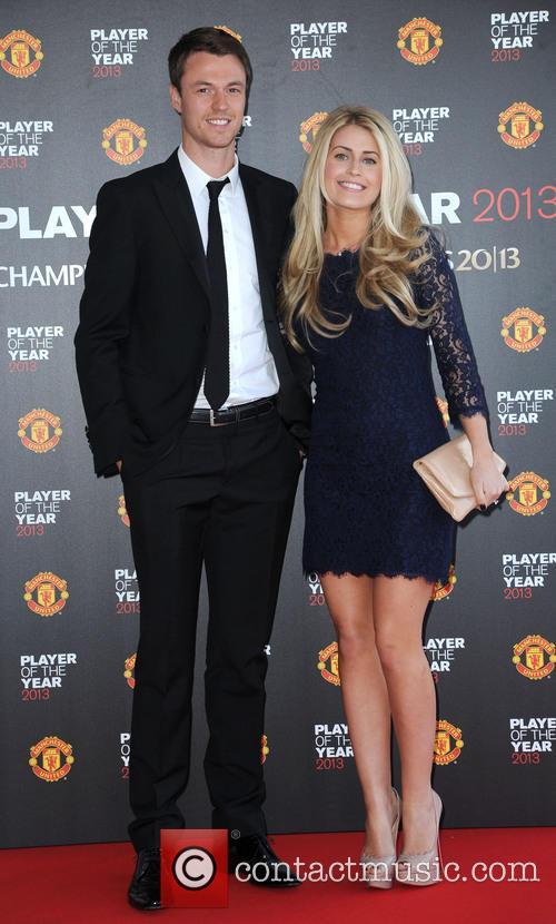 Manchester United, Jonny Evans and Helen Mcconnell 5
