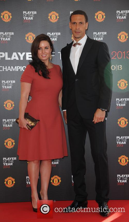 Manchester United, Rio Ferdinand and Rebecca Ferdinand