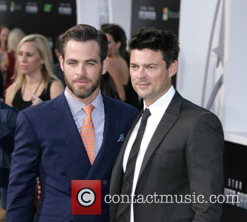 Chris Pine and Karl Urban 4