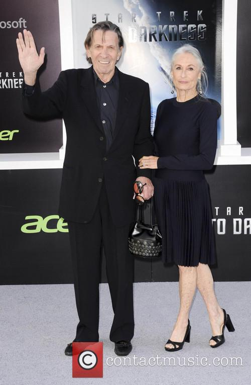 Susan Bay and Leonard Nimoy