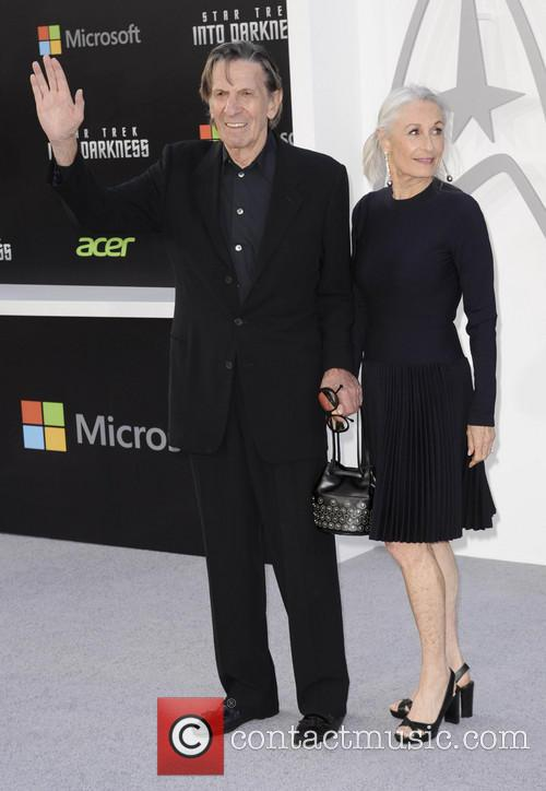 Susan Bay, Leonard Nimoy, Dolby Theater