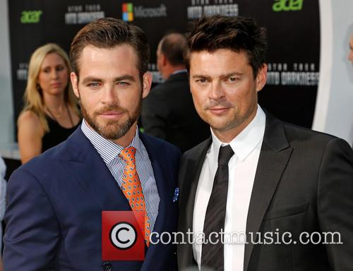 Chris Pine and Karl Urban 8