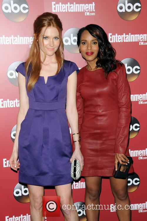 Darby Stanchfield and Kerry Washington 2