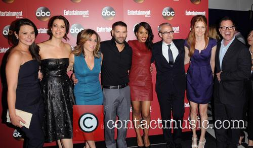 Entertainment Weekly and The Cast Of Scandal 6
