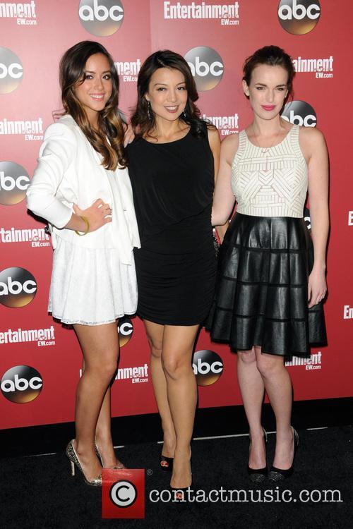 Ming-na Wen, Chloe Bennet and Elizabeth Henstridge 4